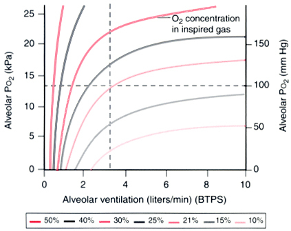oxygenation ventilation and perfusion relationship